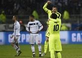 C'est fini pour Lyon, Barça et Bayern impériaux