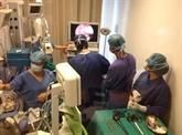 Opération d'une hernie diaphragmatique congénitale à Hanoi, une première