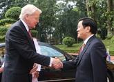 Le président islandais termine sa visite d'État au Vietnam