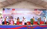 Mise en chantier d'un centre de formation de cadres scientifiques au Laos