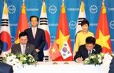 La présidente sud-coréenne salue la ratification de l'ALE avec le Vietnam