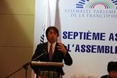Réunion de l'Assemblée parlementaire de la Francophonie