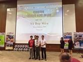 Un élève vietnamien remporte un concours international de programmation en Malaisie