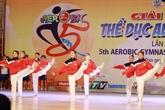 Débuts du championnat d'aérobic d'Asie