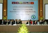 Le Groupe de travail sur l'Initiative du bas-Mékong réuni à Hanoi