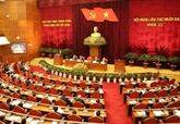La 5e journée de travail du 13e Plénum du Comité central du PCV