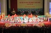 Ouverture du IXe Congrès national d'émulation patriotique àHanoi