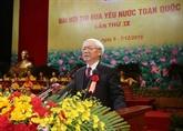 Le chef du PCV définit des orientations pour le mouvement d'émulation patriotique