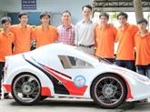 Véhicule écoénergétique : des étudiants vietnamiens au Shell Eco-marathon 2015