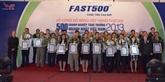 FAST 500 : proclamation des 500 premières entreprises du Vietnam en 2015