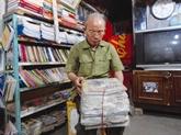 Un vétéran aménage sa maison en bibliothèque communale