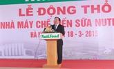 Une laiterie Nutifood verra le jour dans la province de Hà Nam