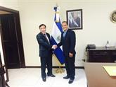 Une délégation du PCV au Mexique et au Salvador