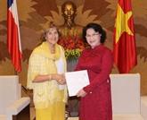 Vietnam-Chili : renforcement des relations entre les deux organes législatifs