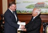 Le Vietnam et l'Estonie renforcent leur coopération
