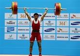 L'haltérophile Thach Kim Tuân met le cap sur Rio 2016