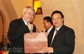 Une délégation du Parti communiste du Vietnam en République tchèque