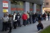 Le chômage augmente en Espagne