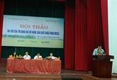 Renforcement du rôle du crédit pour les produits agricoles d'exportation du delta du Mékong