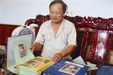Un collectionneur vétéran à Quang Binh