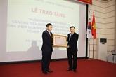 L'ex-directeur général de Samsung Vietnam décoré