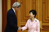 Kerry rencontre la présidente sud-coréenne
