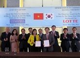 Hô Chi Minh-Ville coopère avec des géants économiques sud-coréens