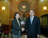 Coordination de l'UNFPA dans l'application des politiques démographiques au Vietnam