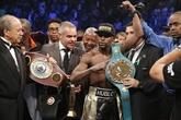 Boxe : Mayweather remporte le combat du siècle et touche le jackpot