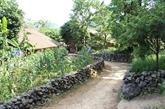 Les murets en pierre, une particularité de Phuc Sen