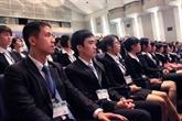 Lancement d'un cours de japonais pour les aide-soignants vietnamiens