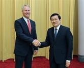Le chef de l'État vietnamien reçoit le PDG de l'AP