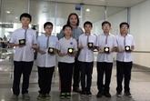 Le Vietnam remporte six médailles d'or aux Olympiades d'Asie-Pacifique 2015