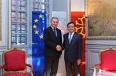 Le secrétaire du Comité du Parti de Hanoi accueilli en France