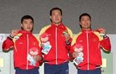 SEA Games : le Vietnam remporte trois médailles d'or