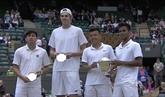 Ly Hoàng Nam, champion junior en double à Wimbledon