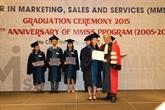 Remise des diplômes de master en marketing, ventes et services