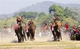 Course d'éléphants du district de Lak
