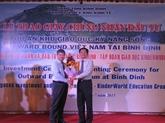Binh Dinh délivre la licence d'investissement à Kinder World