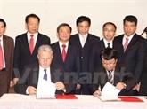 Hà Tinh signe des conventions de coopération avec l'Allemagne
