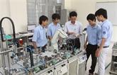 Amélioration de la formation professionnelle à Binh Thuân