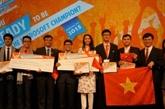 Informatique : une médaille de bronze pour le Vietnam au MOSWC 2015