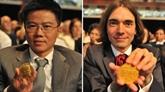 «Brosser le portrait de la galaxie des maths» avec Cédric Villani et Ngô Bao Châu