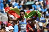 Un Erythréen inattendu domine le marathon