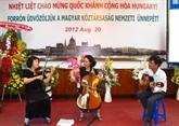 Célébration de la Fête nationale de la Hongrie à Hô Chi Minh-Ville