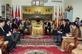 Coopération Vietnam - Cambodge dans les affaires religieuses