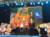 Le Vietnam remporte le Robocon Asie-Pacifique 2015