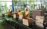 Vinasoy figure parmi les 5 premiers fabricants de lait de soja du monde
