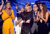 MTV awards : Taylor Swift grande gagnante, Kanye West se voit bien président