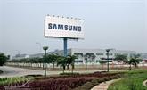 Samsung investit 3 milliards de dollars à Bac Ninh